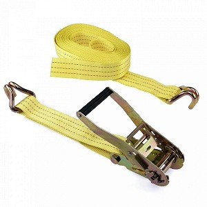 2 in. x 27 ft. Ratcheting Tie Down-J Hook