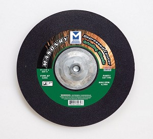 9 in. Masonry Grinding Wheel with Hub