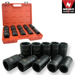 3/4 In. Deep DuoMetric Flank Drive Air Impact Socket Set