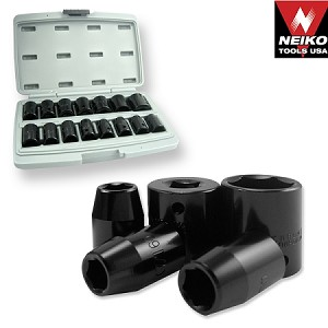 1/2 In. DuoMetric Flank Drive Impact Socket Set