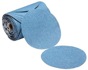 6 in. 320 Grit Stick-On Sandpaper Roll