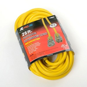 25 Ft. 12 Gauge Extension Cord