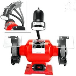 8 In. Bench Grinder-with Light