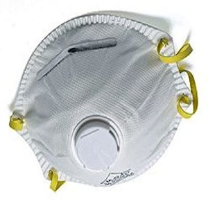 N95 Dust Respirator With Valve-10 Pack