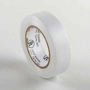 White Electrical Tape-10 Pack