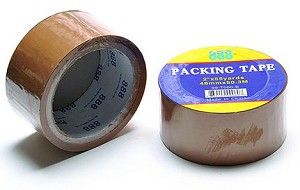 "2"" x 110 yd Tan Carton Sealing Tape"