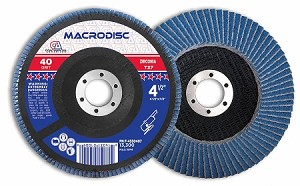 4-1/2 in x 40 Grit Zirconium Flap Disc