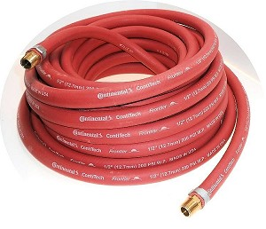 50 Ft. x 1/2 In. USA Air Hose-3/8 In. Fittings